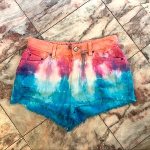 Urban Outfitters BDG Tie Dye High Rise Cheeky
